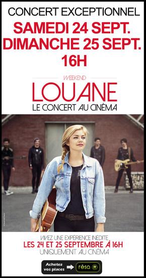 Concert de Louane