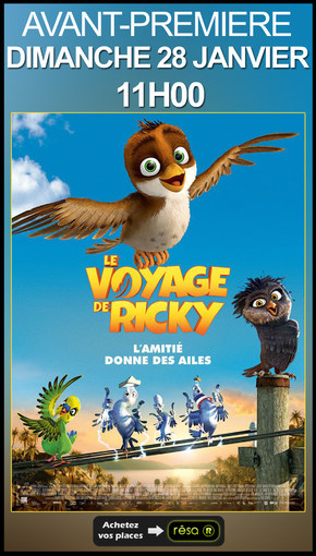 AVANT PREMIERE : LE VOYAGE DE RICKY