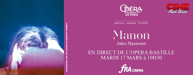 Photo du film Manon (Opéra de Paris-FRA Cinéma)