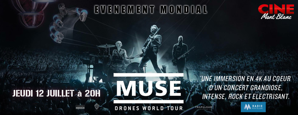 Photo du film MUSE DRONES WORLD TOUR