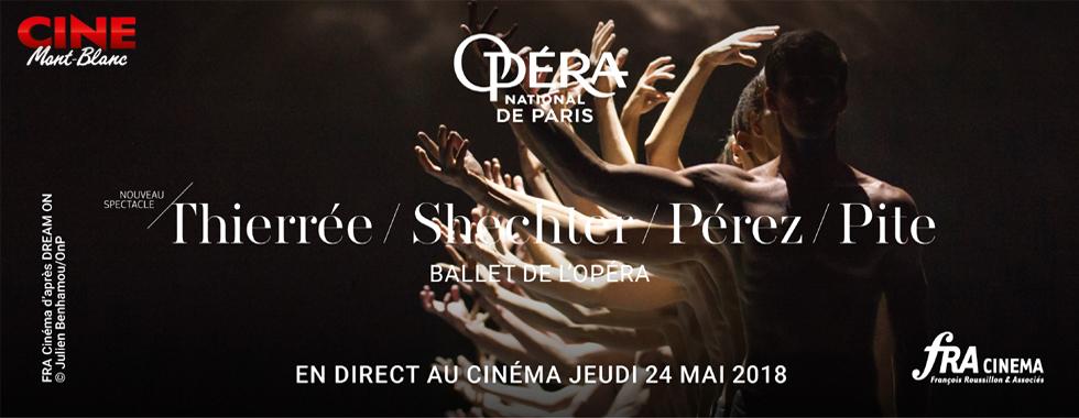 Photo du film Thierree -  Shechter - Pérez - Pite (Opéra de Paris-FRA Cinéma)