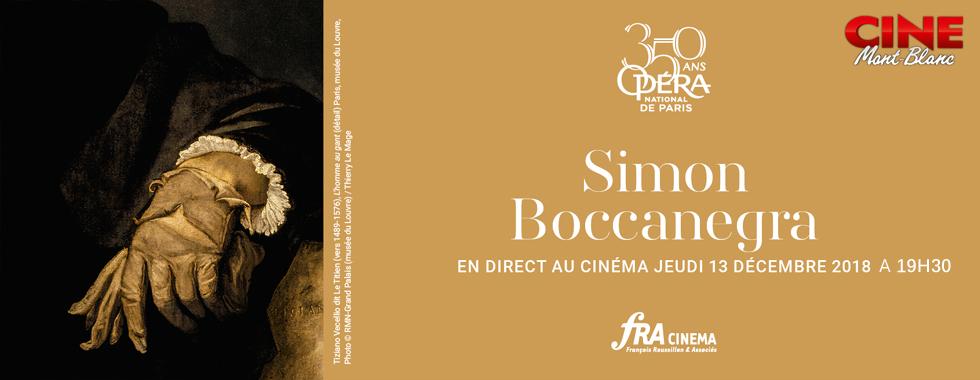 Photo du film Simon Boccanegra (Opéra de Paris-FRA Cinéma)